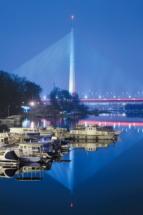 Beograd river Sava