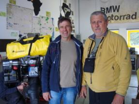 Herbert Shwarz Touratech i ja